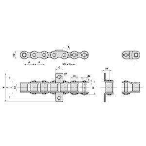 08B-1/K1/4 lanac