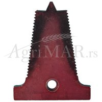 plate for mowers double guard