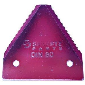 nož kose za travokosačice DIN 80