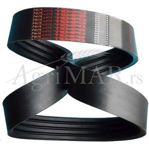 4HB1575 La wrapped banded v-belt shwartz (CL 629001.0)
