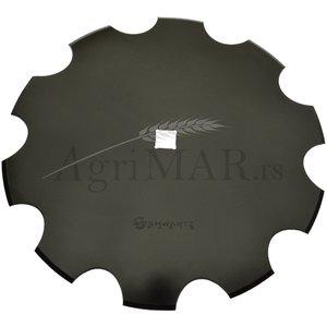 notched disc for harrows plough 510x4/31 SHWARTZ