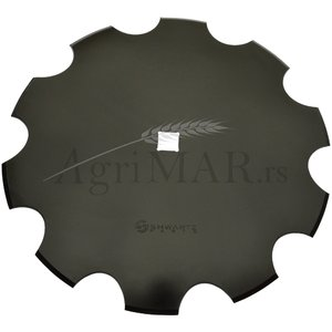 notched disc for harrows plough 460x3.5/31 SHWARTZ