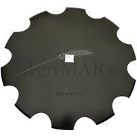 notched disc for harrows plough 510x4/31 [boron steel] SHWARTZ