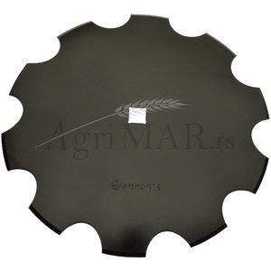 notched disc for harrows plough 460x3.5/26 [boron steel] SHWARTZ